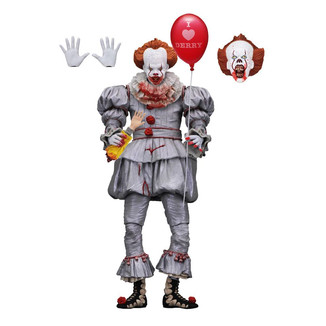 Figura Pennywise Ultimate I Heart Derry Stephen King It 2017
