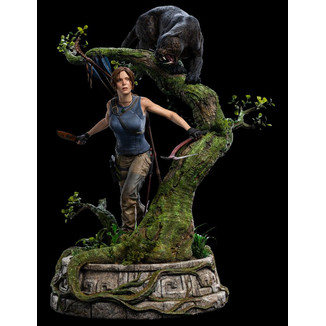 Estatua Lara Croft Shadow of the Tomb Raider
