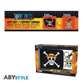 Skull Luffy Pack Wallet and Keyring One Piece