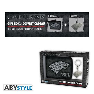 Stark Pack Wallet and Keyring Game of Thrones