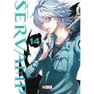 Servamp #14 Manga Oficial ECC Ediciones