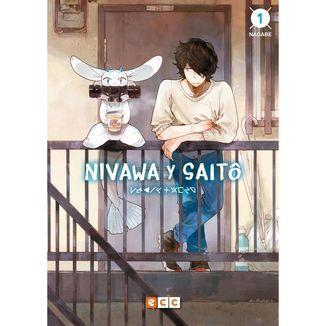 Nivawa y Saito # 01 (Spanish) Manga Oficial ECC Ediciones