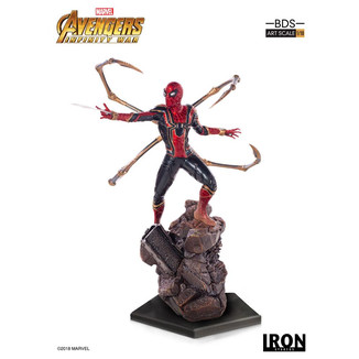 Estatua Iron Spider Man Vengadores Infinity War BDS Art