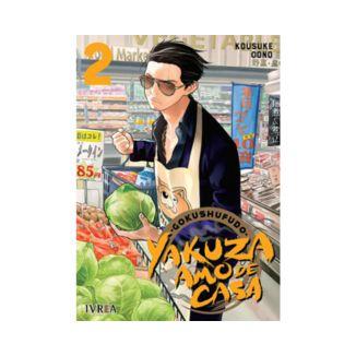 Gokushufudo: Yakuza Amo De Casa #02 Manga Oficial Ivrea (spanish)