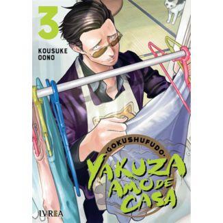Gokushufudo: Yakuza Amo De Casa #03 Manga Oficial Ivrea (spanish)