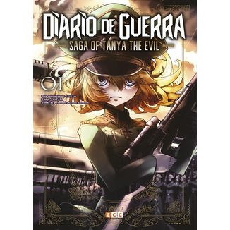 Diario de Guerra Saga of Tanya the Evil #01 (Spanish)