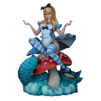 Estatua Alice in Wonderland Fairytale Fantasies Collection