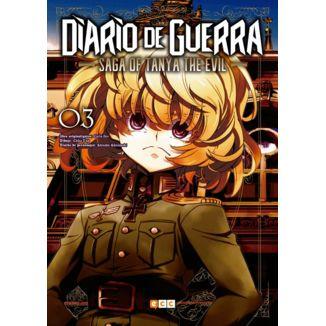 Diario de Guerra Saga of Tanya the Evil #03 (Spanish) Manga Oficial ECC Ediciones