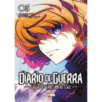 Diario de Guerra Saga of Tanya the Evil #05 (Spanish) Manga Oficial ECC Ediciones