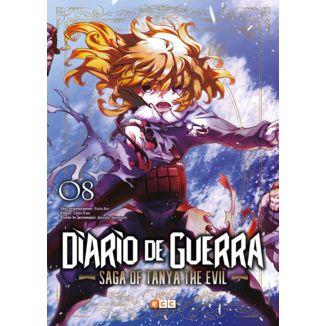 Diario de Guerra Saga of Tanya the Evil #08 (Spanish) Manga Oficial ECC Ediciones