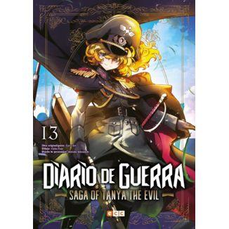 Diario de Guerra Saga of Tanya the Evil #13 Manga Oficial ECC Ediciones (Spanish)