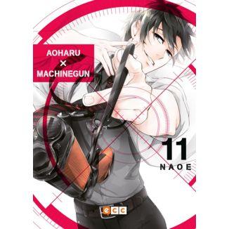 Aoharu Machinegun #11 Manga Oficial ECC Ediciones