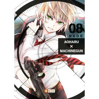 Aoharu Machinegun #08 (spanish) Manga Oficial ECC Ediciones