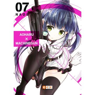 Aoharu Machinegun #07 Manga ECC Ediciones (spanish)