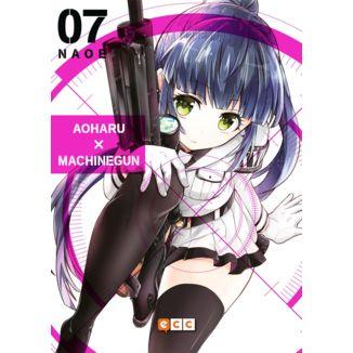 Aoharu Machinegun #07 (spanish) Manga Oficial ECC Ediciones