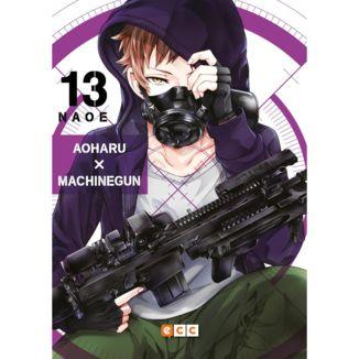 Aoharu X Machinegun #13 Manga Oficial ECC Ediciones