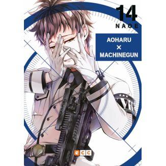 Aoharu X Machinegun #14 Manga Oficial ECC Ediciones