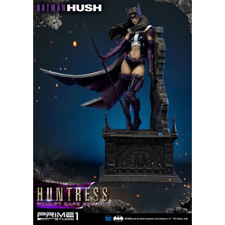 Estatua Huntress Sculpt Cape Edition Batman Hush