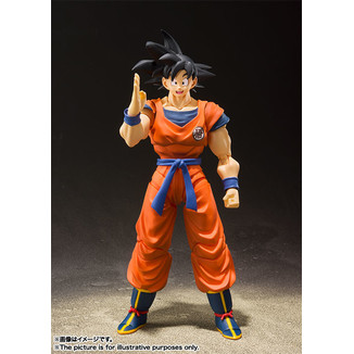 Son Goku Saiyan Raised on Earth SH Figuarts Dragon Ball Z