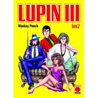 Lupin III #01 Manga Oficial Panini Manga