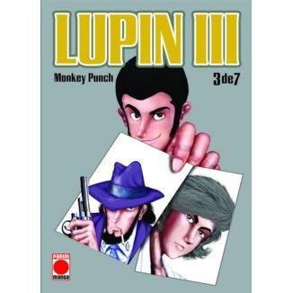 Lupin III #03 Manga Oficial Panini Manga