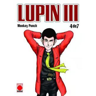 Lupin III #04 Manga Oficial Panini Manga