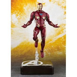 SH Figuarts Iron Man Mark 50 & Tamashii Stage Vengadores Infinity War