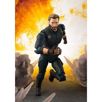 Captain America & Set Effects SH Figuarts Avengers Infinity War