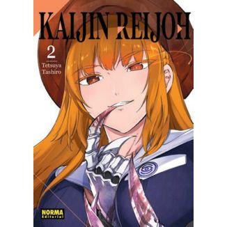 Kaijin Reijoh #02 Manga Oficial Norma Editorial (Spanish)