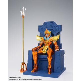 Poseidon Julian Solo with Imperial Throne Myth Cloth EX Saint Seiya