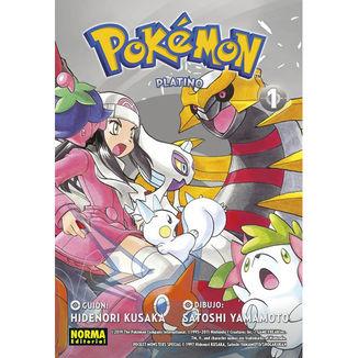Pokemon Platino #01 Manga Oficial Norma Editorial