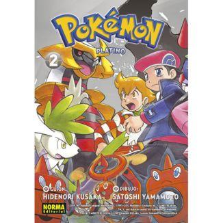 Pokemon Platino #02 Manga Oficial Norma Editorial