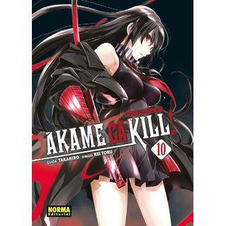 Akame Ga Kill Zero #10 Manga Oficial Norma Editorial