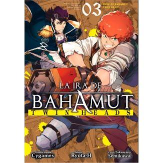 La Ira De Bahamut: Twin Heads #03 Manga Oficial Ediciones Babylon (spanish)
