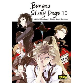 Bungou Stray Dogs #10 Manga Oficial Norma Editorial