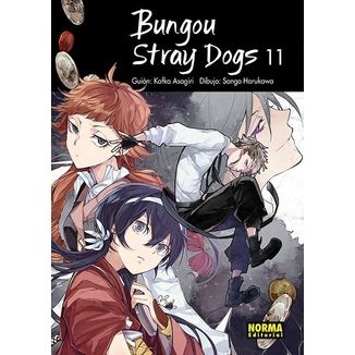 Bungou Stray Dogs #11 Manga Oficial Norma Editorial