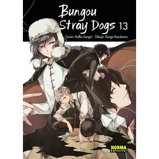 Bungou Stray Dogs #13 Manga Oficial Norma Editorial