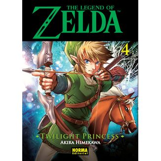 The Legend of Zelda  Twilight Princess #04 (spanish) Manga Oficial Norma Editorial