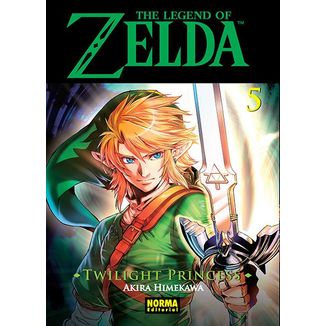 The Legend of Zelda  Twilight Princess #05 (spanish) Manga Oficial Norma Editorial