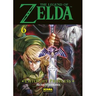 The Legend of Zelda  Twilight Princess #06 Manga Oficial Norma Editorial