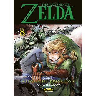 The Legend of Zelda Twilight Princess #08 Manga Oficial Norma Editorial