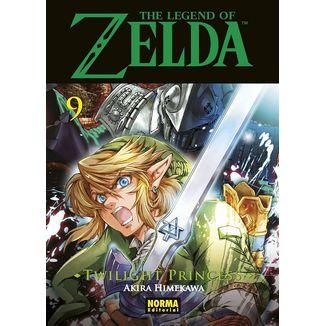 The Legend of Zelda Twilight Princess #09 Manga Oficial Norma Editorial (Spanish)