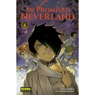 The Promised Neverland #06 (spanish) Manga Oficial Norma Editorial