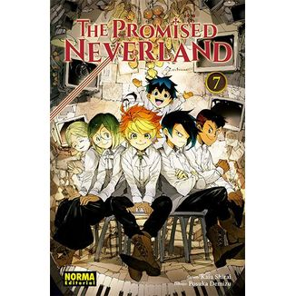 The Promised Neverland #07 Manga Oficial Norma Editorial