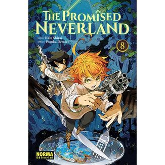 The Promised Neverland #08 (spanish) Manga Oficial Norma Editorial