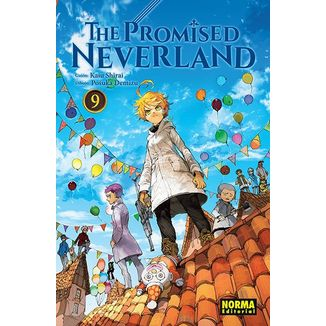 The Promised Neverland #09 Manga Oficial Norma Editorial