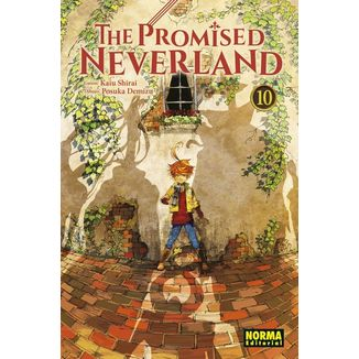 The Promised Neverland #10 Manga Oficial Norma Editorial