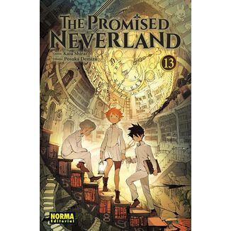 The Promised Neverland #13 Manga Oficial Norma Editorial