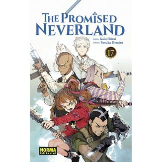 The Promised Neverland #17 Manga Oficial Norma Editorial