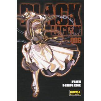 Black Lagoon #06 Manga Oficial Norma Editorial